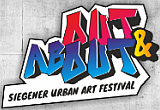 "Logo Siegener Urban Art Festival ""Out and About"""